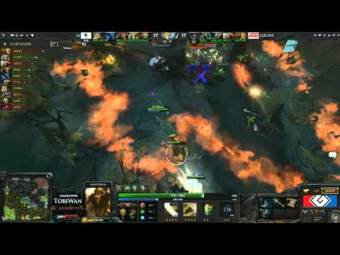 LGD.INT vs Invictus Gaming Game 4 - G League DOTA2 Finals - TobiWan