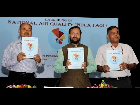 Environment Minister Shri Prakash Javadekar launches National Air Quality Index