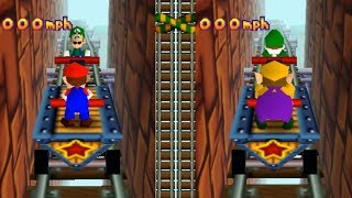 Mario Party 2 - All 2-vs-2 Minigames
