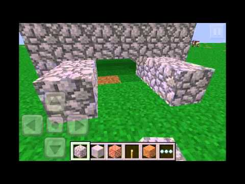 Minecraft PE Tutorial: How to make an Automatic Mushroom Farm in 0.5.0!!!