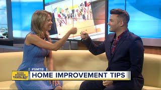 Designer: professional assistance, wine helpful tools when making home improvements