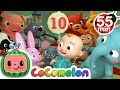 Ten In The Bed More Nursery Rhymes Kids Songs Cocomelon ABCkidTV mp3
