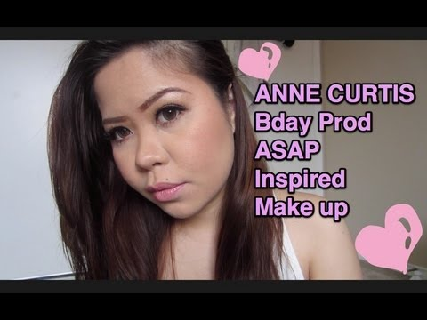 Anne Curtis Birthday Prod ASAP Inspired Makeup