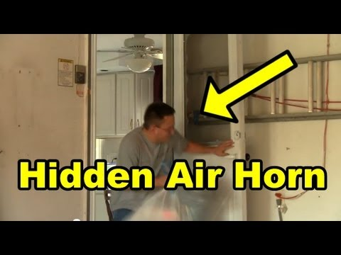 Funny Pranks : Funny Air Horn Prank 2