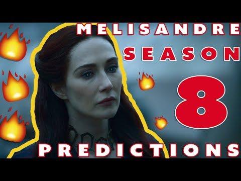 Game Of Thrones Melisandre Volantis Golden Company Season 8 Predictions