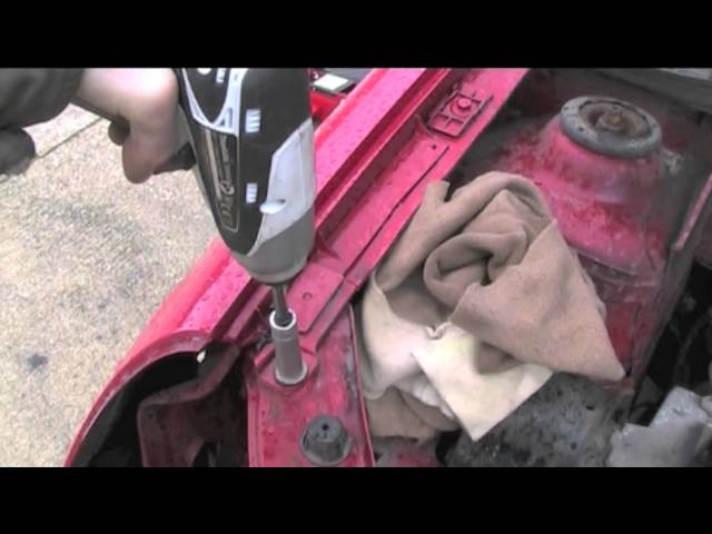 Front Bumper, Headlight and Wing Removal - YouTube