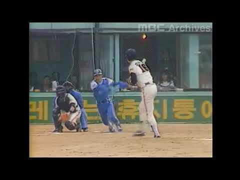 Korean baseball KBO 1983 Korean series, Game 1