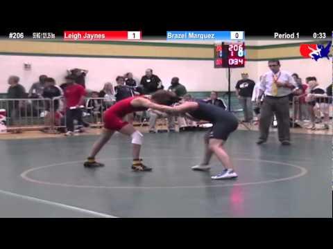 Sunkist Women 55kg - Leigh Jaynes vs. Brazel Marquez