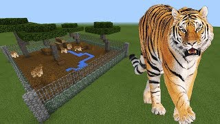 How To Make a TIGER Farm in Minecraft PE | MCPE Journalist
