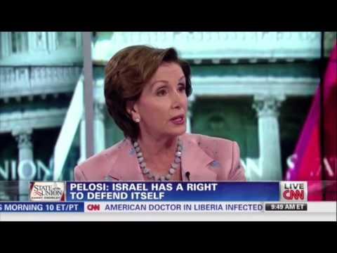 Nancy Pelosi thinks Hamas is a humanitarian organization