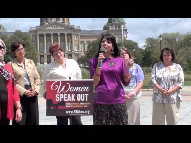 Abortion Survivor Tells Her Story, Rips Obama