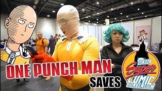 One Punch Man Saves London Super Comic Con 2016