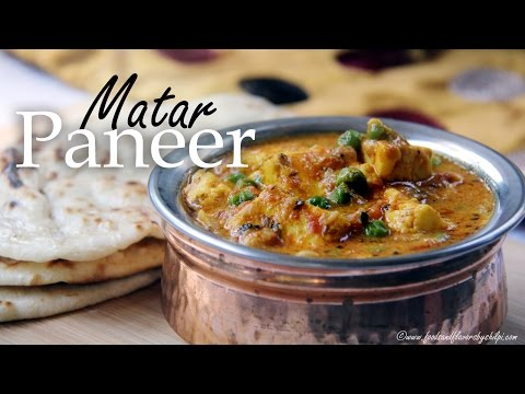 Matar Paneer curry recipe | Indian Vegetarian Recipes for lunch Dinner | Quick one pot recipe