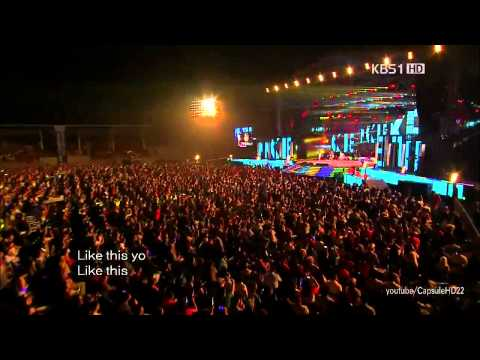 [live Hd] 120708 - Wonder Girls - Like This - Open Concert video