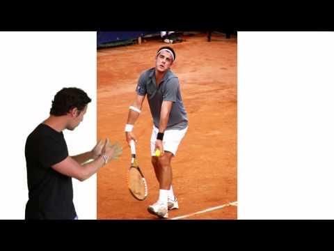 El Saque De Tenis - El Ritmo Y Lanzamiento De La Bola - Clases De Tenis