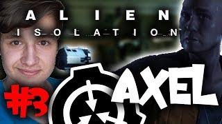 MÓJ NOWY PRZYJACIEL - AXEL! | Alien: Isolation #3