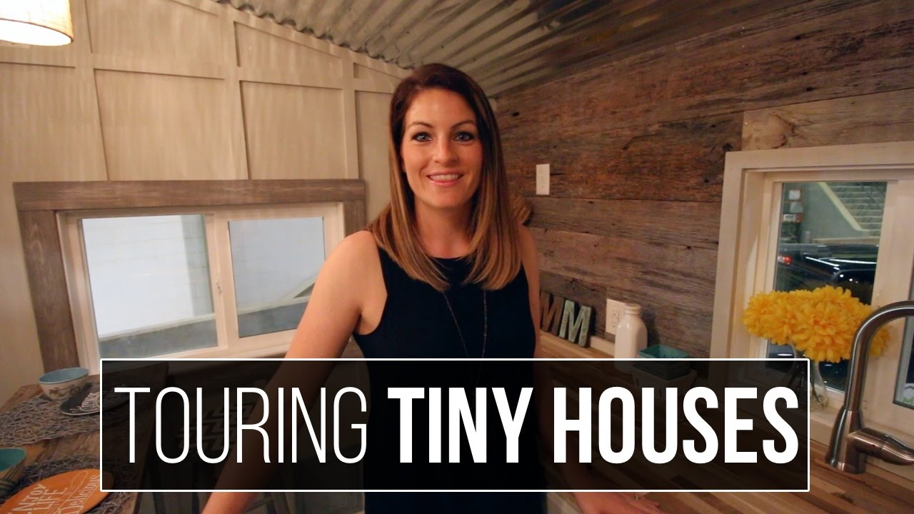Tiny House Tour - Tiny House Roadshow in Cookeville, Tn