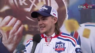 Виктор Тихонов на чемпионском параде СКА