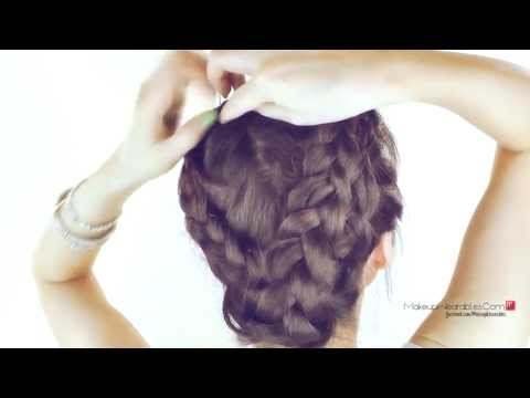 MERMAID MILKMAID BRAID!  BRAIDED UPDOS HAIRSTYLES FOR SCHOOL PROM WEDDING | FOR LONG HAIR TUTORIAL