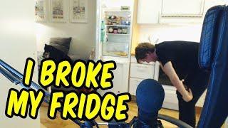 I broke my fridge - GTA 5 Funny Moments