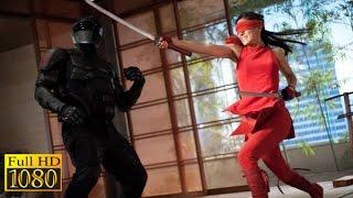 G.I. Joe Retaliation (2013) - Snake eyes vs Jinx |Training Test| Full scene (1080p) FULL HD.
