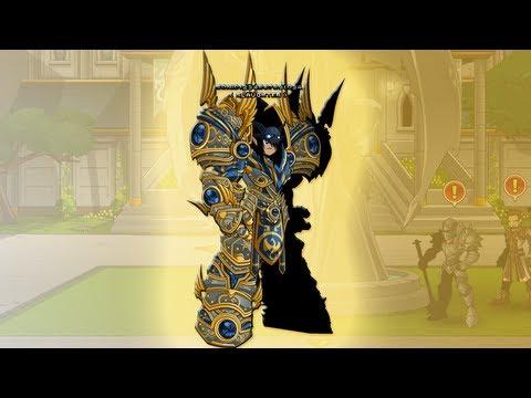 AQWorlds - Battlemage Class Tutorial + Mana Golem Solo