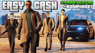 GTA 5 EASY MONEY!! GTA 5 ONLINE - HOW TO MAKE MONEY FAST ONLINE!!! (GTA V)