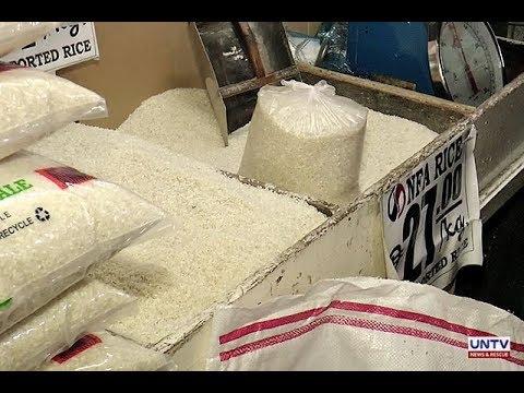 Presyo ng bigas, hindi bababa kahit maisabatas ang rice tarrification - retailer group thumbnail