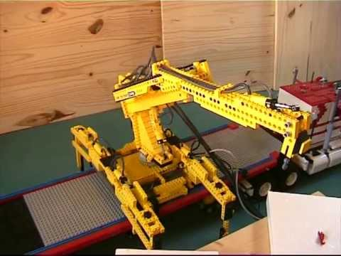 Lego Crane Truck Lego Freightliner Truck And