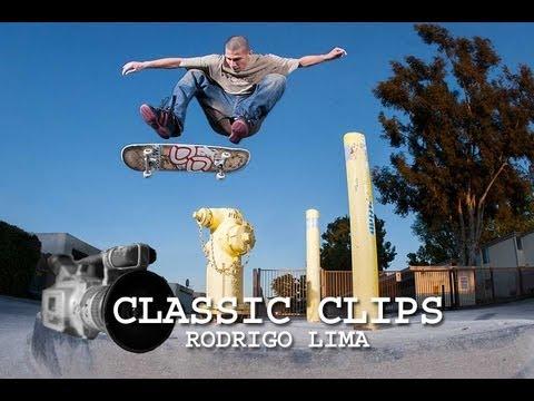 Rodrigo Lima Skateboarding Classic Clips #93