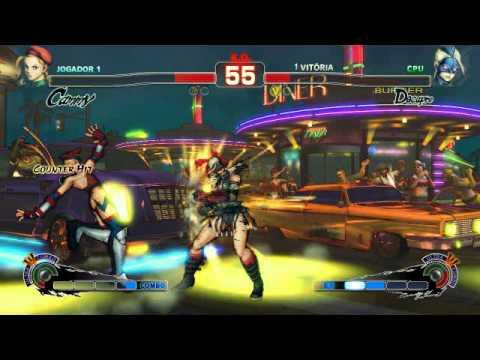 Ultra Street Fighter IV: Cammy vs Decapre Intel hd graphics 2000