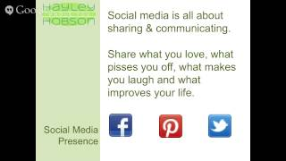 Success with Social Media Webinar