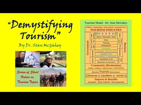 Video #24 Tourism Distribution (12 narrated slides, 9:18)