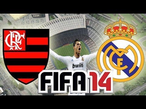 Fifa 2014 Flamengo vs Real Madrid