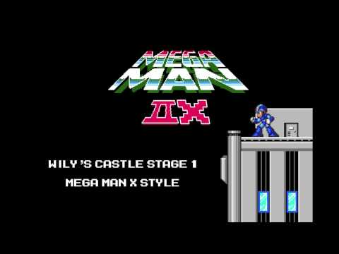 Mega Man 2 - Wily's Castle Stage 1 - Mega Man X Style