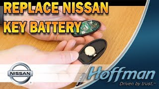 HOW TO: Replace Nissan Key Battery