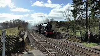 Leander & Scots Guardsman at Armathwaite and Carlisle 21 March 2015