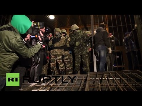 Ukraine: Kolomoisky barricades himself inside UkrNafta HQ in Kiev - reports