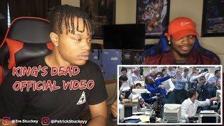 Kendrick Lamar, Jay Rock, Future, James Blake - King's Dead (Music Video) - REACTION