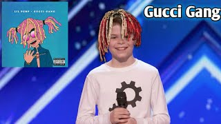 Download Lagu Kid dances to Gucci Gang on America's got talent! Gratis STAFABAND