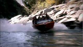 Shotover Jet Boat Ride - Queenstown, New Zealand