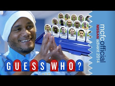 KOMPANY GUESSES WHO? | Man City Advent Calendar 2014 | Day Fifteen