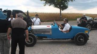 Bugatti Type 40 dirty Burnout ! | Festival Bugatti Molsheim 2015 Part 3