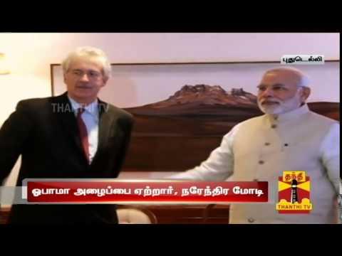 Indian prime minister Narendra Modi to visit United States In September : Thanthi TV