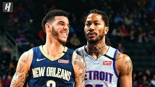 New Orleans Pelicans vs Detroit Pistons - Game Highlights | January 13, 2020 | 2019-20 NBA Season