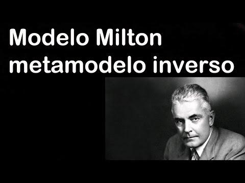 Modelo Milton Metamodelo Inverso modelo de milton milton erickson