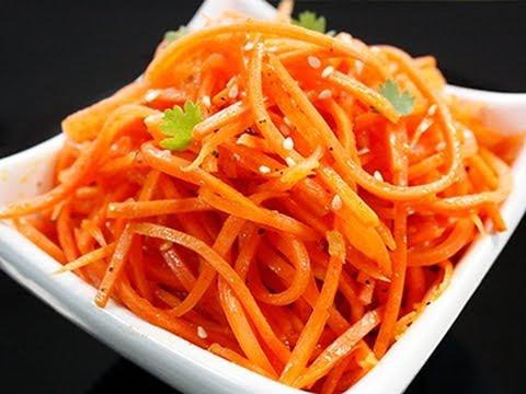Как приготовить салат из моркови - видео