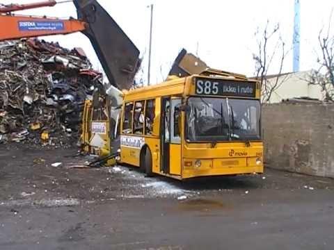 City Trafik 2410 Scania N113cll Lahti 402 At The Scrap