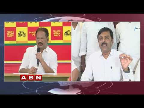 Minister Nakka Anand Babu questions to GVL over CAG report | ABN Telugu