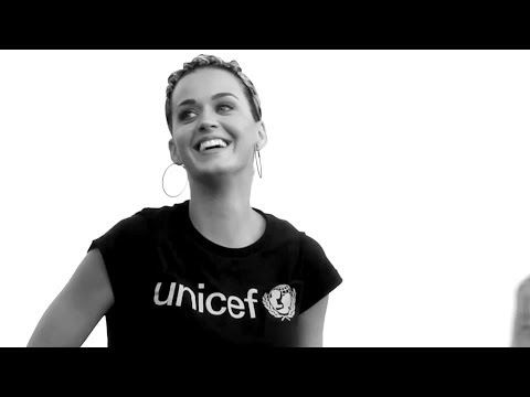 Unicef Goodwill Ambassador Katy Perry - unconditionally video